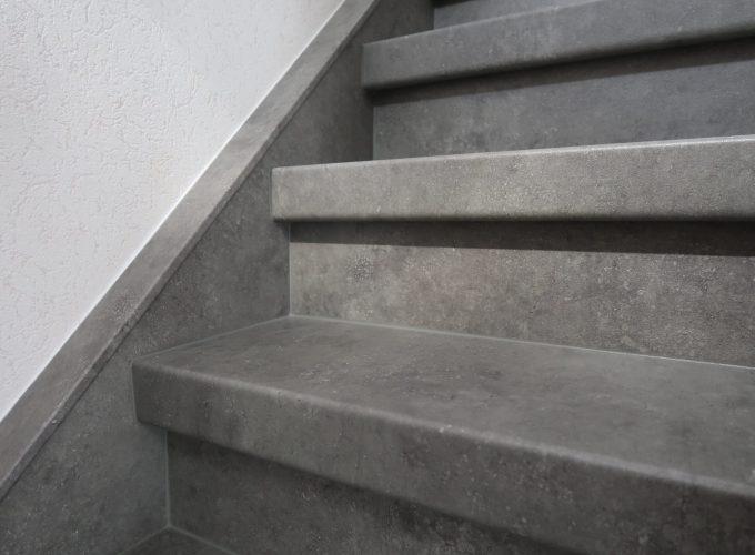 Traprenovatie betonlook