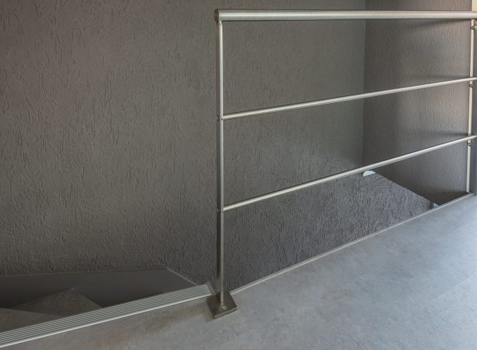 Inox balustrade